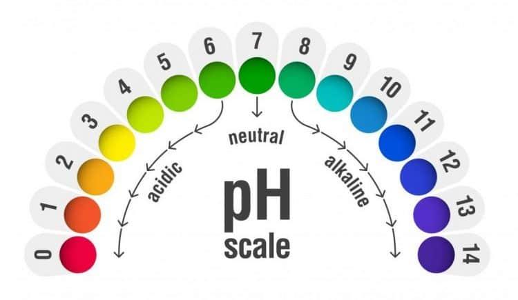 độ pH tự nhiên của da
