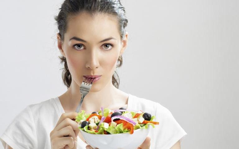 dinh dưỡng và mụn