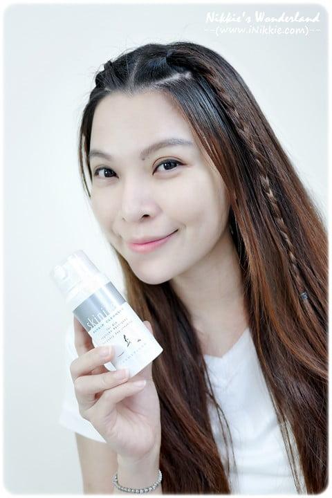 Cảm nhận của Nikkie khi dùng sữa rửa mặt Skinicer® Repair Cleanser