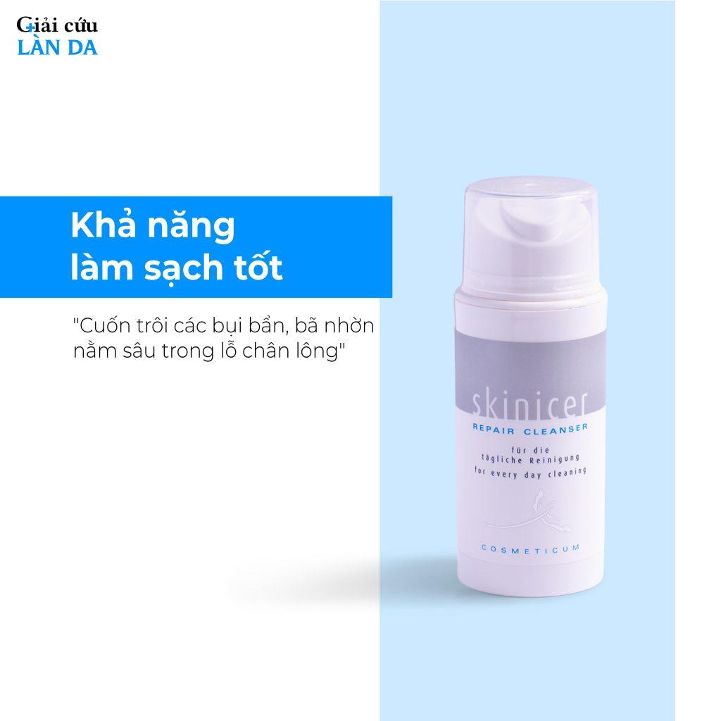 Một sữa rửa mặt tốt còn phải giúp da mềm mại, cấp ẩm vừa phải, thông thoáng, dễ chịu.