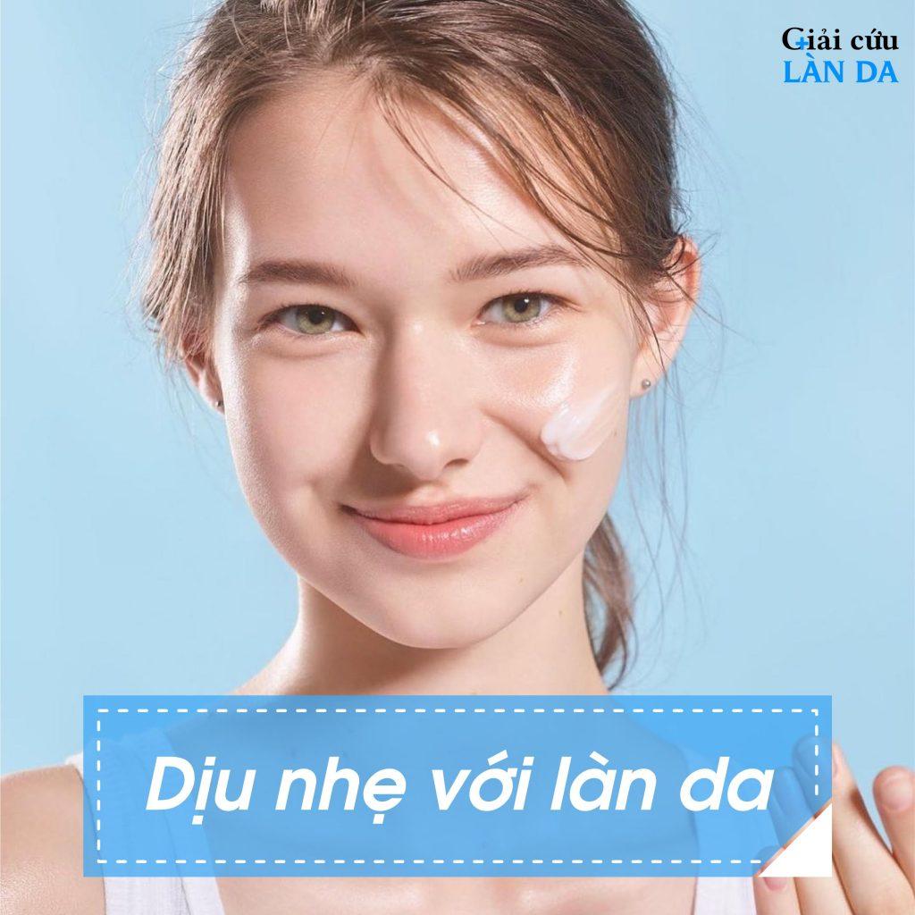 sữa rửa mặt trị mụn và vết thâm cho nữ
