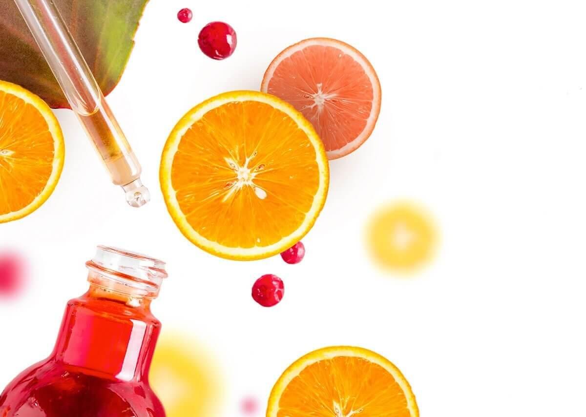 Trị nám với vitamin C có trong hoa quả