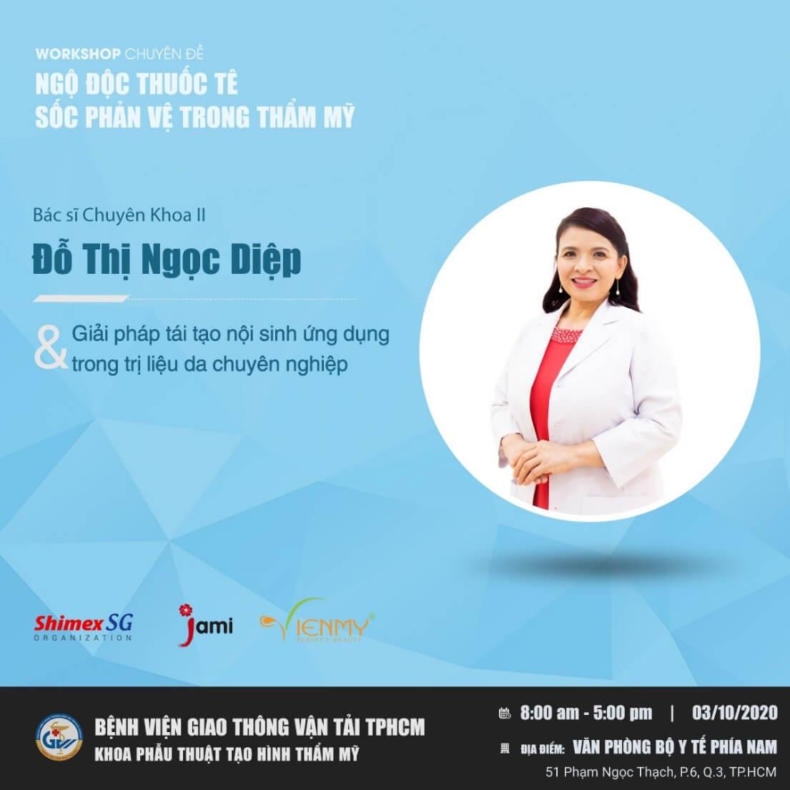 Bác sĩ chuyên khoa Nguyễn Thị Ngọc Diệp