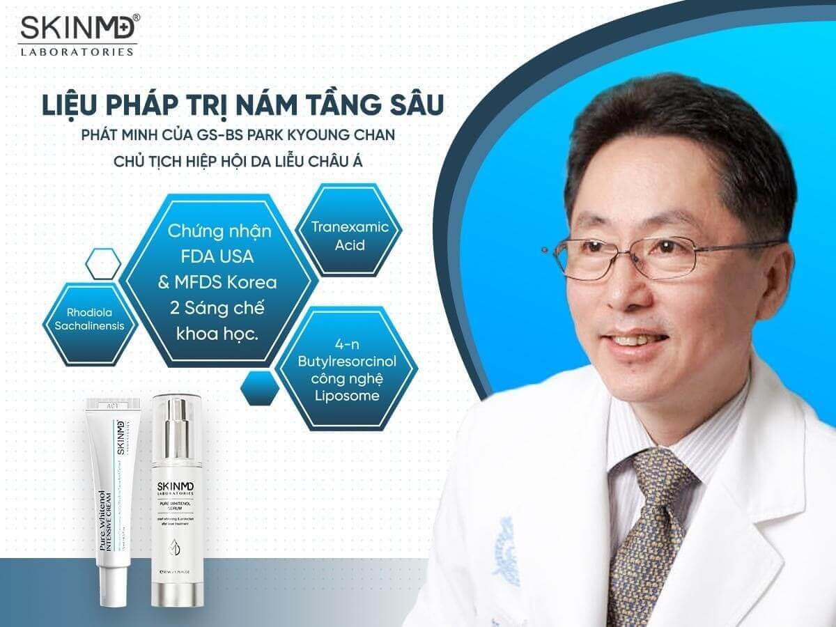 Chuyên gia Hàn Quốc nói về Serum SkinMD