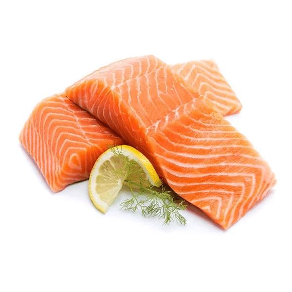 Cá hồi là thực phẩm trị mụn tốt