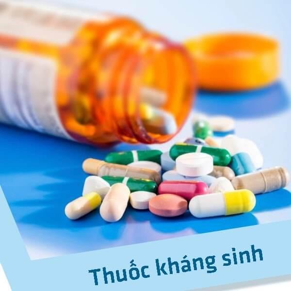 Các phương pháp trị mụn hiệu quả với thuốc kháng sinh