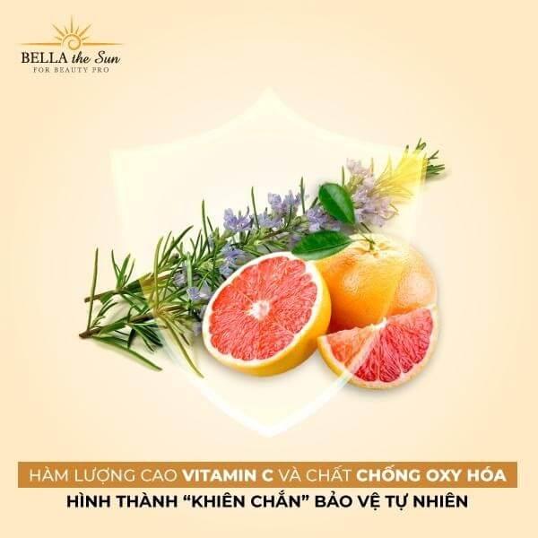 Điều trị nám chân sâu tại nhà với vitamin C và chất chống oxy hóa