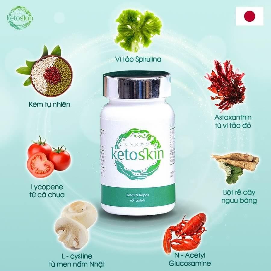 Ketoskin là cách thải độc cơ thể của tương lai