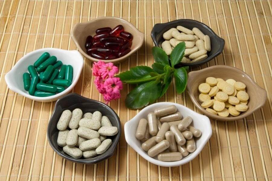 Các thành phần thường thấy trong viên uống chống lão hóa
