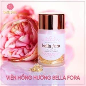 Viên uống hồng hương Bella Fora